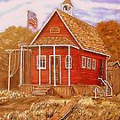 Idaho School House by KenLePoidevin