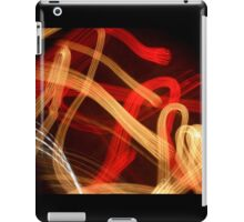 A Stroll at Night with Music iPad Case/Skin