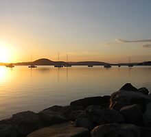 Koolewong Sunrise by Barnesy