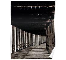 """Long Walk Under West Pier"" Poster"