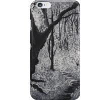 Monochrome Path 1 iPhone Case/Skin