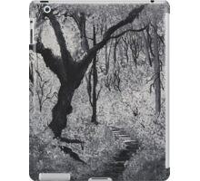 Monochrome Path 1 iPad Case/Skin