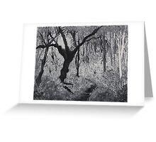 Monochrome Path 1 Greeting Card