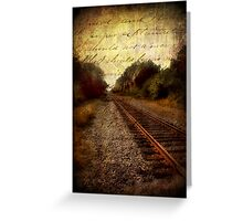 for your journey Greeting Card