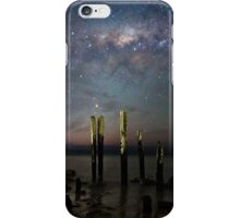 Old Port Willunga Jetty and Galaxy iPhone Case/Skin