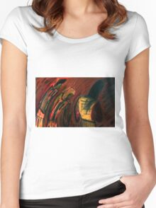 Late Nite  in a Bar  Women's Fitted Scoop T-Shirt