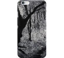 Monochrome Path 2 iPhone Case/Skin