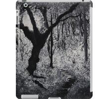 Monochrome Path 2 iPad Case/Skin