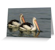 The two of us Greeting Card