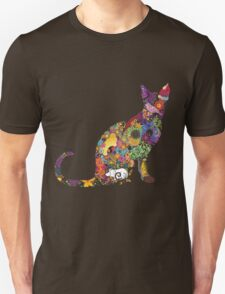 Colourful Kitty Unisex T-Shirt