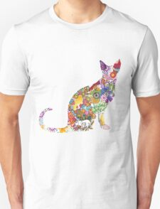 Colourful Kitty Unisex T-Shirt