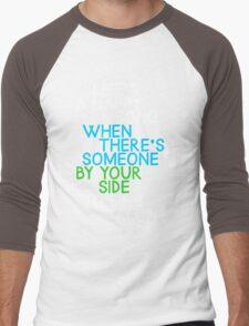 Life's a Happy Song Men's Baseball ¾ T-Shirt