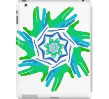sd Hand Fractal 1R iPad Case/Skin
