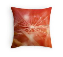 Starburst.  Throw Pillow