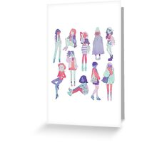 ♀♀♀ Greeting Card