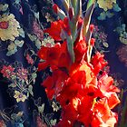 Gladiolis by Roz McQuillan