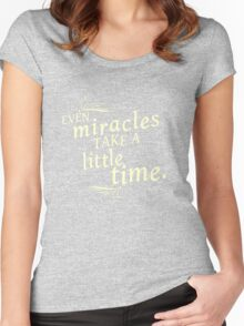 Miracles Women's Fitted Scoop T-Shirt