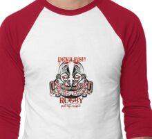 devilfish Men's Baseball ¾ T-Shirt