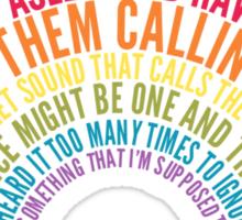 Voices Sticker