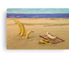 The banana nude beach Canvas Print