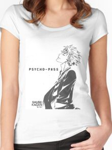 Psycho-Pass Kagari Women's Fitted Scoop T-Shirt