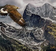 The Soaring Mountains by J Leslie  Booth