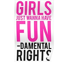 Girls Fundamental Rights Poster