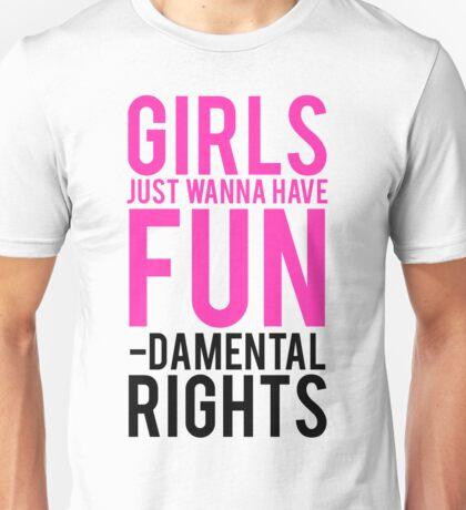 Girls Fundamental Rights Unisex T-Shirt