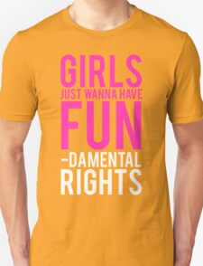 Girls Fundamental Rights T-Shirt