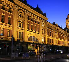 Melbourne Flinders Street Station by Illusions