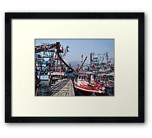 Pak Nam Pran Harbour Framed Print