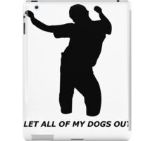 Bobby Shmurda - Let All Of My Dogs Out iPad Case/Skin