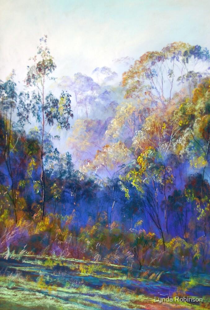 Winter Blues - (Near Seymour, Victoria) by Lynda Robinson