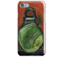 Study: Candle holder,Green Vase & Glass Air Diffuser iPhone Case/Skin