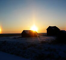 Sundog Sunset by Heath Dreger