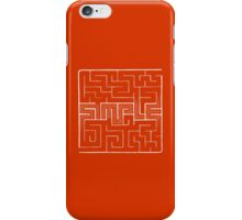 The labyrinth of simple thinking iPhone Case/Skin