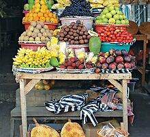 Fruit for sale by ecureuil