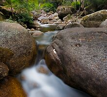 Eurobin Creek cascades 2 by Neil