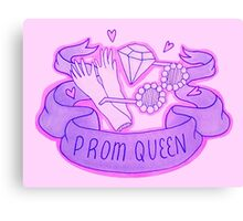 ♡ prom queen ♡ Canvas Print
