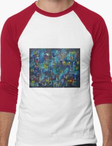 Abstract Journey by Manjiri Kanvinde Men's Baseball ¾ T-Shirt