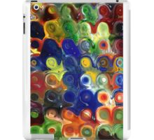 Glass Block Flowers  iPad Case/Skin