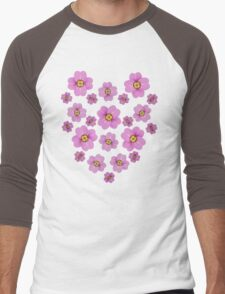 Sakura Cherry Blossoms Men's Baseball ¾ T-Shirt