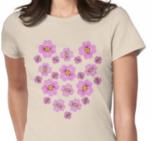 Sakura Cherry Blossoms Womens Fitted T-Shirt