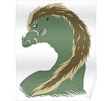 Punk Dragon Poster