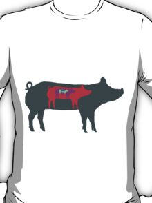 Pigs in Pigs in Pigs T-Shirt