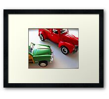car toys Framed Print