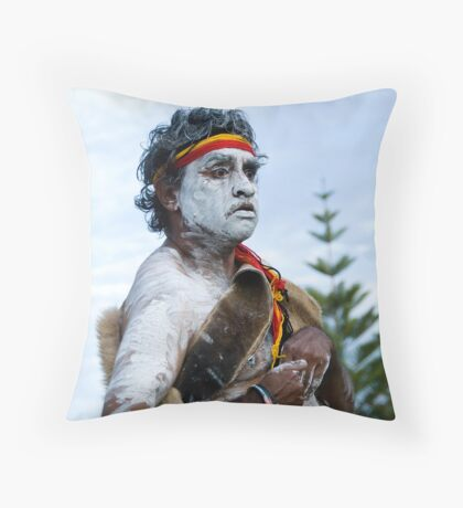 Traditional Dance Art Throw Pillow