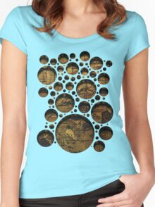 Story Bubbles Women's Fitted Scoop T-Shirt