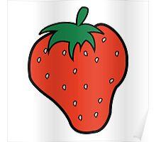 Superfruit Strawberry Poster