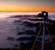 Shooting the sunset :) by Aswirly
